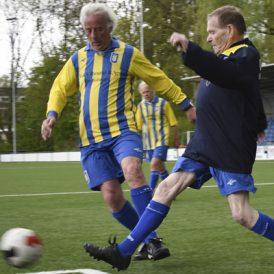 Walking football, klein van stuk en groots in zijn daden