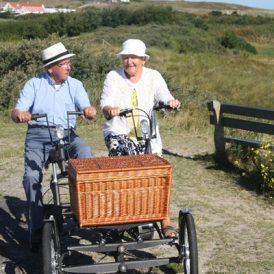 Geen fiets stabieler  dan een vierwieler